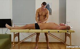 Gay Massage Table - Luke Ward and Ryan Cage