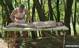 Gay Massage Table - Carl Ross and Tim Law