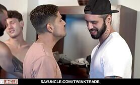 Son Swap Fitness Session - Twink Trade